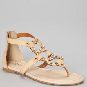 Natural Breeze Beige Florence Sandals